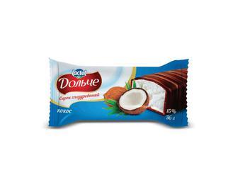 Сирок глазурований «Дольче» 15% жиру, кокос, 36г