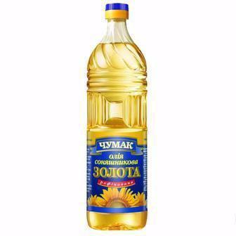 Олія золота рафінована Чумак 1л