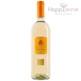 Вино Сізаріні Бірдоліно червоне, сухе/Піно Гріджио 0,75л