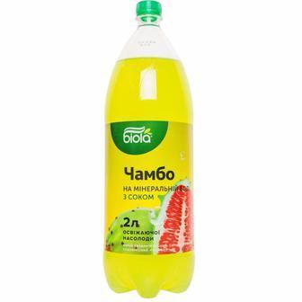 Напій безалкогольний Чамбо/Смак ананас 2л biola