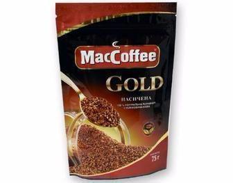 Кава розчинна Arabika, Gold Maccoffee 75 г