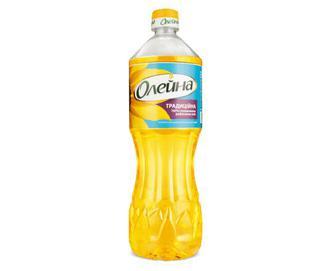 Олія соняшникова «Олейна» «Традиційна» рафінована, 0,8 л