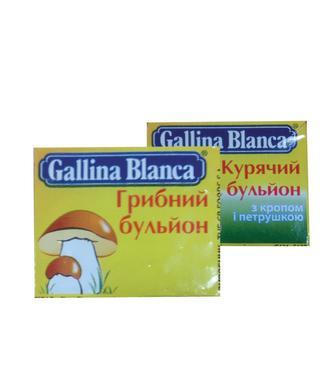 Бульйон грибний або курячий з  кропом та петрушкою Галіна Бланка 10г
