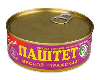 Паштет ОПК «Празький» м'ясний, 240г