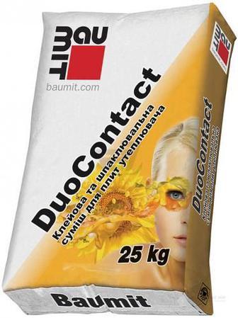 Суміш для приклеювання та армування DuoContact 25 кг