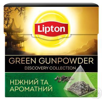 Чай чорний у пірамідках Lipton 20ф/п