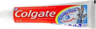 Дитяча зубна паста Colgate Доктор Заяц зі смаком жуйки 50 мл