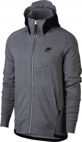 Джемпер Nike M NSW HOODIE AIR MAX FZ FT 886071-091 р. M сірий