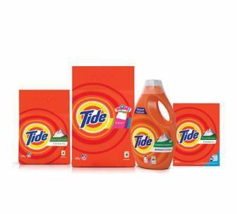 Порошок для автоматичного або ручного прання 400г/2,4 кг Рідкий порошок 1,23л  Tide