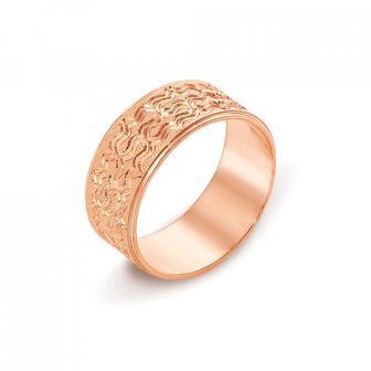 Обручальное кольцо с алмазной гранью. Артикул 10101/17