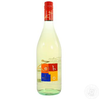 Вино ігристе Cantine Pellegrino ZEBO Moscato Bianco Dolce Sicilia IGT 6%0,75л