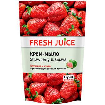 Скидка 31% ▷ Мило Fresh Juice рідке із гліцерином Полуниця 460мл