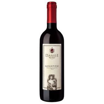 Вино Danese Sangiovese червоне сухе Італія 0.75л
