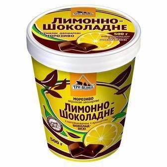 """Морозиво Фісташка Лимон шоколад, """"Три Ведмеді"""", 500г"""