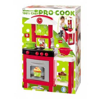 Кухня Pro-Cook Smoby 15 аксессуаров Smoby (001713)