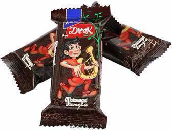 Цукерки Шоколадні історії Джек Konti 100г
