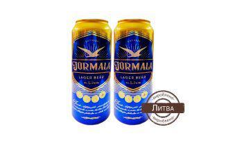 Пиво 5,2% Юрмала 0,5 л