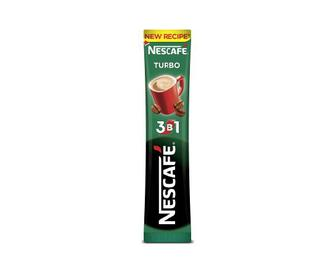 Напій кавовий розчинний Nescafe 3 в 1, Turbo, 13 г