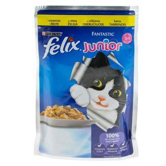 Скидка 34% ▷ Корм для котів Felix Purina 100 г
