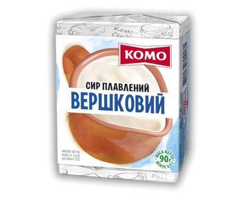 Сыр плавленый Вершковий 55% 90г
