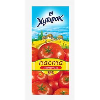 Паста томатна 25%, Хуторок, сашет, 70 г