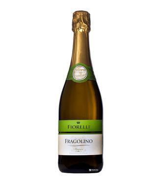 Вино ігристе Фіорелі Біянко біле солодке Фраголіно 0,75л