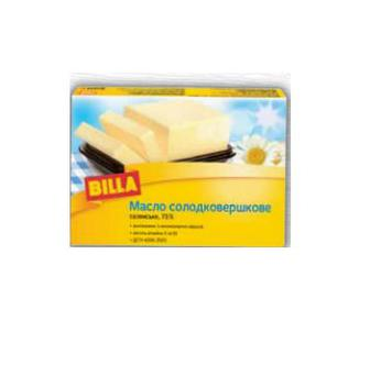 Масло солодковершкове  Селянське  73%  BILLA 200 г