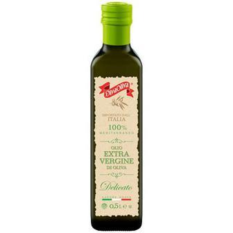 Олія оливкова Delicato Екстра вірджин 0,5л