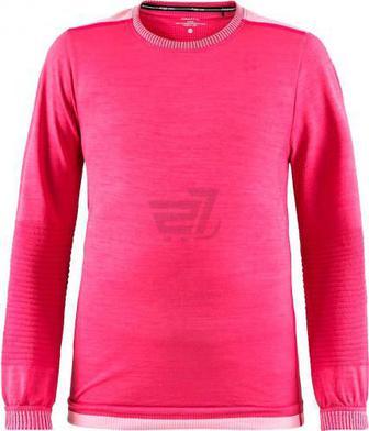 Термофутболка Craft Fuseknit Comfort RN LS Junior р. 122/128 рожевий 1906633-B20705