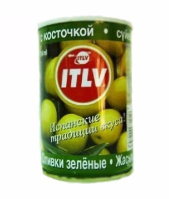 90e31ae5b5ff06 Акция ▷ Оливки ITLV зеленые с косточкой 314мл ▷ Minus50.Net