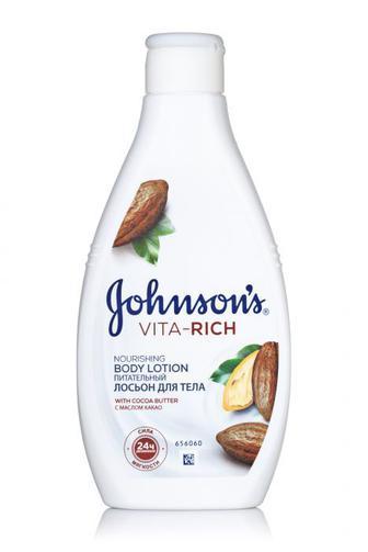 Лосьон д / тела Джонсон Софт Vita Rich Питательный с маслом какао, 250мл