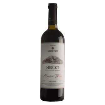 Вино Резерв Мерло червоне, Трамінер біле сухе Коблево 0,75 л