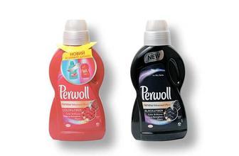 Засіб миючий рідкий рідкий Color, для прання кольорових речей/Black Perwoll 0.9л