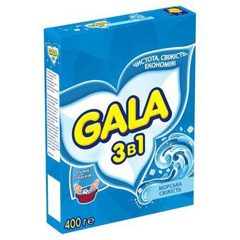 Порошок пральный Gala Морська cвiжість ручний, 400 г