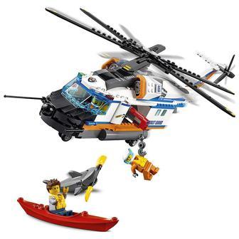 Конструктор LEGO City Сверхмощный спасательный вертолет (60166)
