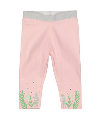 Рожеві квіткові легінси від Mothercare