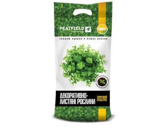 Субстрат торф'яний Peatfield для декоративно-листяних рослин, 6 л