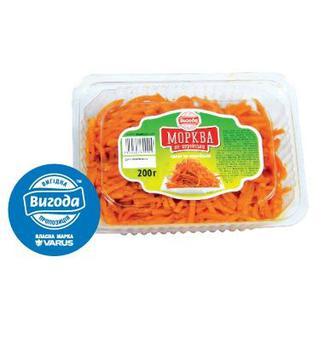 Морква по-корейськи 200г