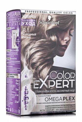 Крем-краска для волос COLOR EXPERT тон 7-0 Темно-русый