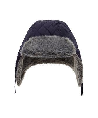 Стьобана шапка-вушанка від Mothercare