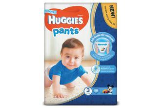 Підгузки-трусики Huggies Pants для хлопчиків 3 (6-11 кг) 58 шт./уп