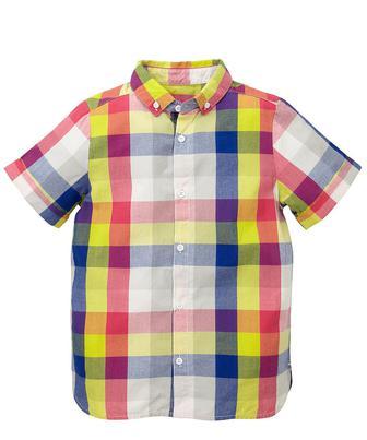 Скидка 30% ▷ Кольорова сорочка у клітинку від Mothercare