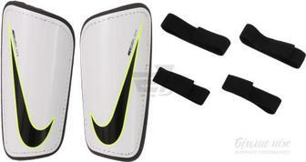 Щитки футбольні Nike Hard Shell Slip SP2101-100 р. L білий
