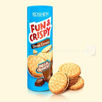 Крекер Fun&Crispy Roshen 135г