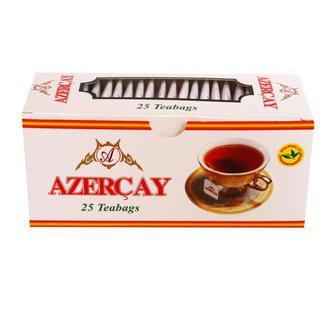Чай чорний з чебрецем або бергамотом Azercay 25 пакетиків