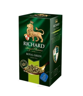 Чай зелений Richard Lame&Mint/Earl Grey 25пак