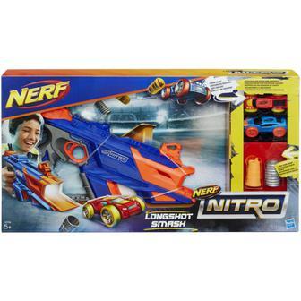 Игровой набор с бластером Hasbro Nerf Nitro Longshot Smash