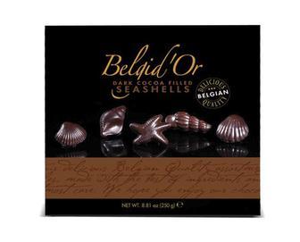 Скидка 33% ▷ Цукерки Belgid'Or чорний шоколад, 250г