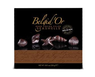 Цукерки Belgid'Or чорний шоколад, 250г