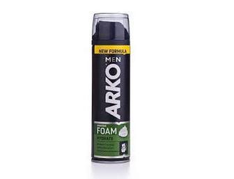 Пена для бритья ARKO мужская Увлажняющая, 200мл
